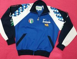 CALCIO ITALIA 90 Schillaci Baggio Diadora giacca tuta felpa shirt RARA VINTAGE